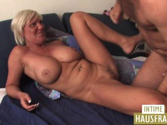 Blond milf with big boobs tubes