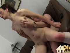 Threesome party after work videos