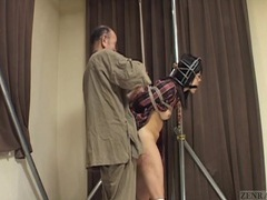 Subtitled bizarre cmnf japanese nose hook bdsm spanking videos