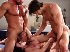 Mom kendra lust double teamed by muscular guys movies at kilopills.com