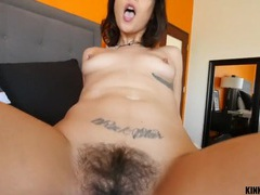 Hairy pussy stepsister craves your dick inside her videos