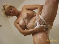 Soapy mature tits and ass in a naughty shower movies at find-best-ass.com