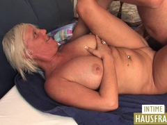 Blond milf with big boobs videos