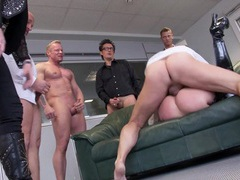 Office gangbang part 2 movies at adipics.com
