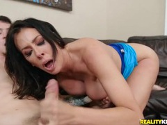 Mommy reagan foxx rides cock with her bald cunt movies at find-best-babes.com