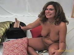 Curvy amateur mom interviews in the nude videos