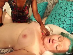 Mature lesbian dominated by a sexy young black chick movies at adspics.com