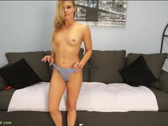 Cute blonde mom turns on a vibrator and gets off movies at sgirls.net