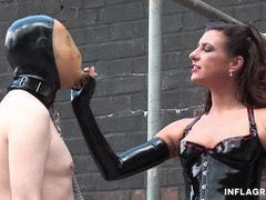 Extreme german milf dominatrix movies at sgirls.net