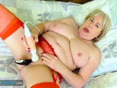 Europemature older trisha solo masturbation movies at sgirls.net