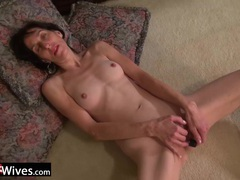 Usawives mature penny jones showing cute striping videos