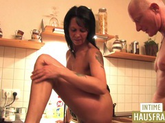 Mature fuck in the kitchen videos