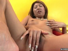 Asian cunt and ass looks lovely in close up tubes at chinese.sgirls.net