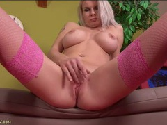 Gorgeous implants on a lusty masturbating milf babe movies at find-best-babes.com