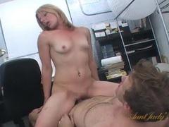 Milf secretary pussy slammed hard by a stiff dick videos