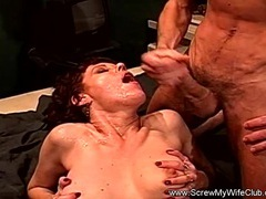 Dp anal threesome swinger wife fucks strangers movies at find-best-mature.com