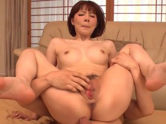 Tight asian twat takes a seat on his erection tubes at korean.sgirls.net