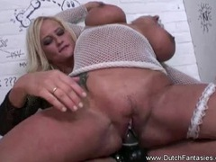 Dutch strapon lesbian sex from the city of amsterdam tubes