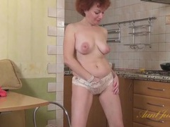 Old babe in a miniskirt does a sexy striptease movies at find-best-videos.com