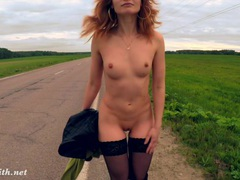 Jeny smith public nudity on the road tubes